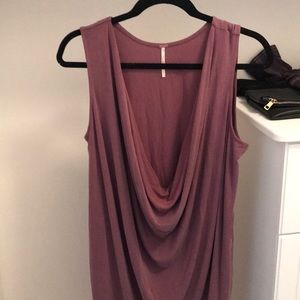 Free People Purple Drop Dress